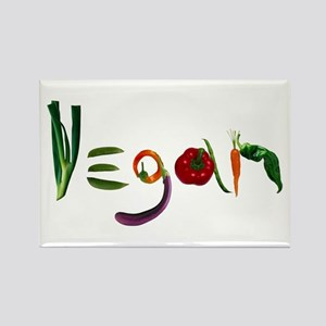 Vegan Rectangle Magnet
