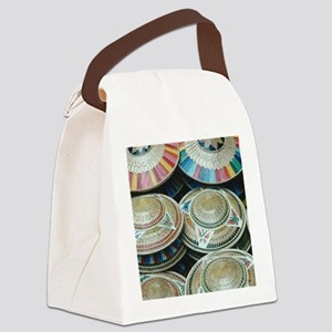 Around the World T-shirts Canvas Lunch Bag
