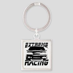 extremeracingmustangfox Square Keychain