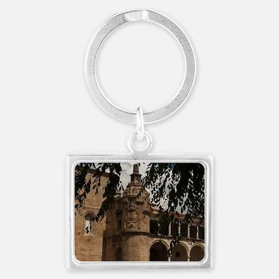 Conventual De San Benito Salori Landscape Keychain