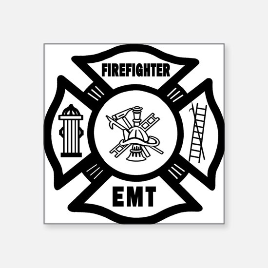 Firefighter EMT Sticker