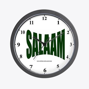 Salaam Wall Clock