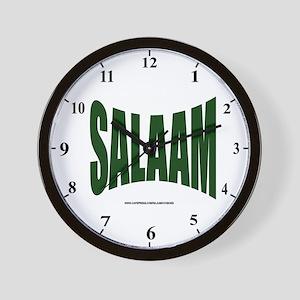 Salaam Wall Clock