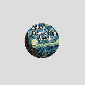 Dahlias Mini Button