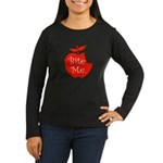 Bite Me. Women's Long Sleeve Dark T-Shirt