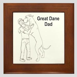 N GD Dad Framed Tile