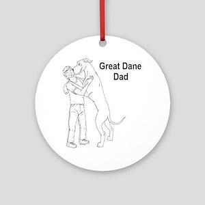 N GD Dad Ornament (Round)