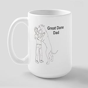 N GD Dad Large Mug