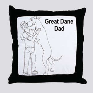 N GD Dad Throw Pillow