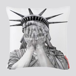 liberty final Woven Throw Pillow