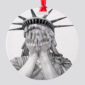 liberty final Round Ornament