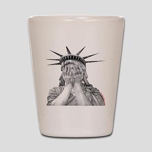 liberty final Shot Glass