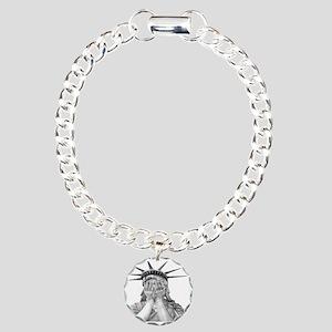 liberty final Charm Bracelet, One Charm