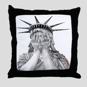 liberty final Throw Pillow