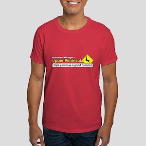 Deer Crossing Bumper Dark T-Shirt