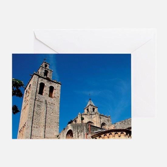 Art romanesque. The Royal Benedictin Greeting Card