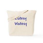 Cutesy Wutesy Tote Bag