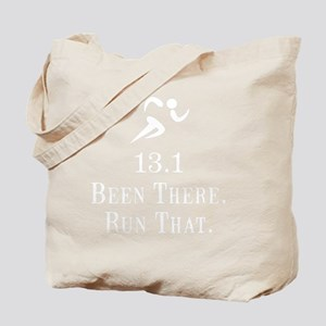 13 Run That White Tote Bag