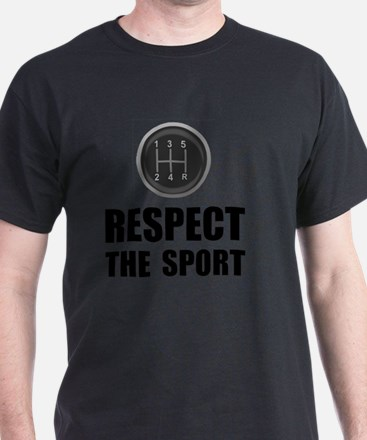 Driving Respect The Sport Black T-Shirt
