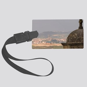 View from Iglesia (church) Parro Large Luggage Tag