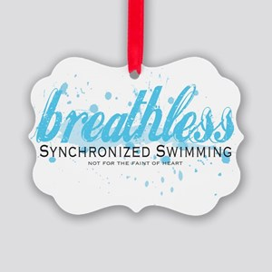 Breathless Picture Ornament