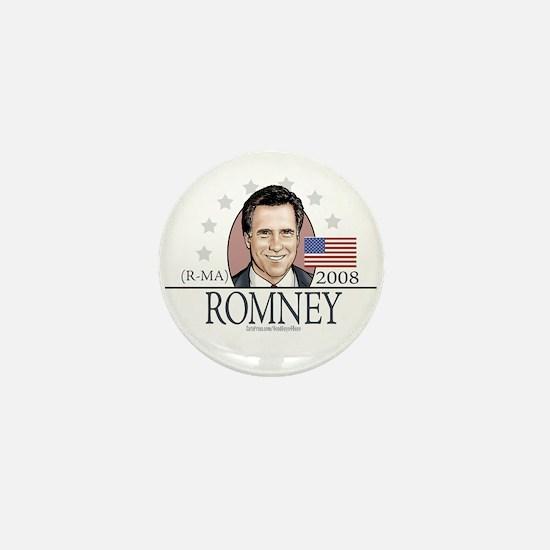 Team Romney 2008 Mini Button