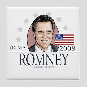 Team Romney 2008 Tile Coaster