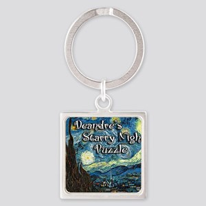 Deandres Square Keychain
