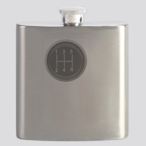Driving Respect The Sport White Flask