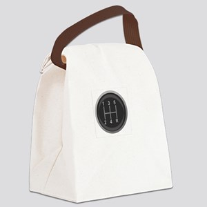 Driving Respect The Sport White Canvas Lunch Bag