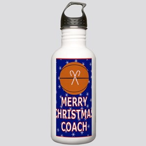 Merry Christmas Greeti Stainless Water Bottle 1.0L
