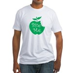 Bite Me. Fitted T-Shirt