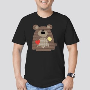 cafepress-07 Men's Fitted T-Shirt (dark)