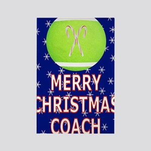 Merry Christmas Greeting Card for Rectangle Magnet