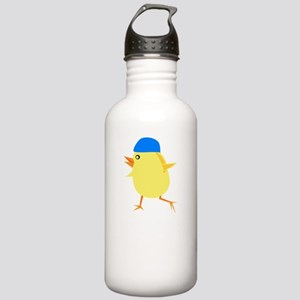 Swimmer Chick White Stainless Water Bottle 1.0L