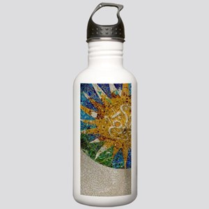 Gaudi's Parc Guell. Co Stainless Water Bottle 1.0L