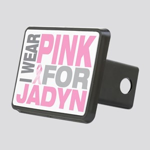 I-wear-pink-for-JADYN Rectangular Hitch Cover
