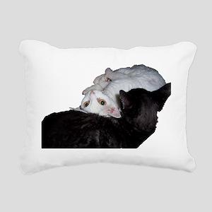 Cat-Wrap-1 Rectangular Canvas Pillow
