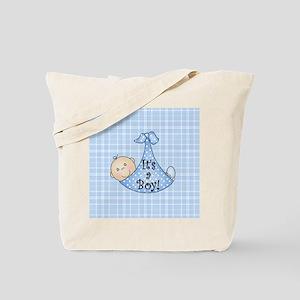 It's a Boy (White) Tote Bag