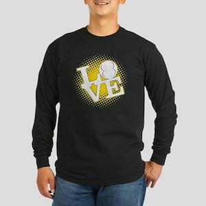 LoveAllMotor Long Sleeve Dark T-Shirt