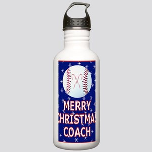 Merrry Christmas Greet Stainless Water Bottle 1.0L
