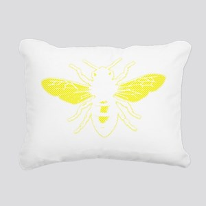 2000x2000honeybee9clear Rectangular Canvas Pillow