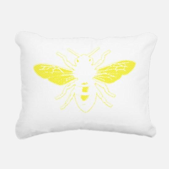 2000x2000honeybee9clear Rectangular Canvas Pillow