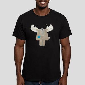 Cafepress woodland-02 Men's Fitted T-Shirt (dark)