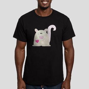 Cafepress woodland-05 Men's Fitted T-Shirt (dark)