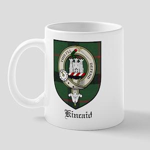 Kincaid Clan Crest Tartan Mug