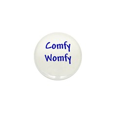 Comfy Womfy Mini Button (100 pack)