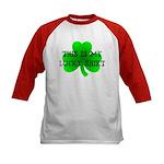 My Lucky Shirt Kids Baseball Jersey