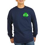 My Lucky Shirt Long Sleeve Dark T-Shirt