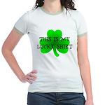 My Lucky Shirt Jr. Ringer T-Shirt